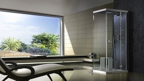 Ice Steam Shower System From BluBleu