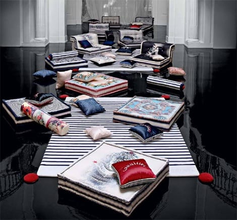 Jean Paul Gaultier's Couture Furniture For Roche Bobois