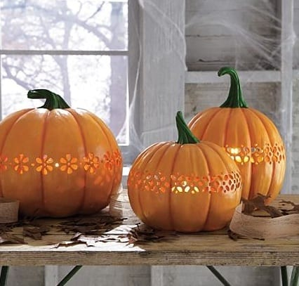 Martha Stewart Cut-Out Pumpkins For Halloween