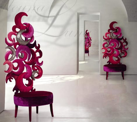 Sicis Next Art Furniture Collection By Carla Tolomeo