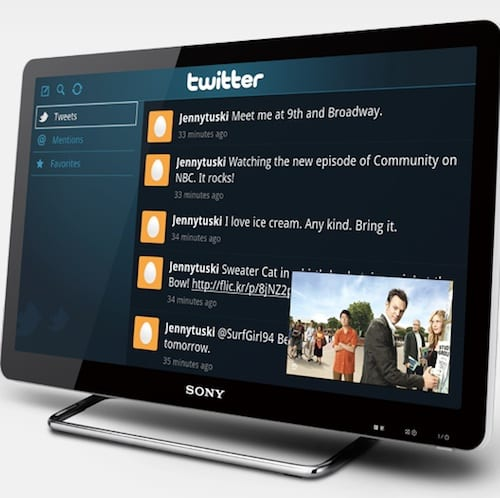 Sony Internet TV  With Google
