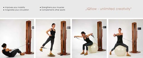 IQflow Fitness Designer Furniture By Angelo Makula