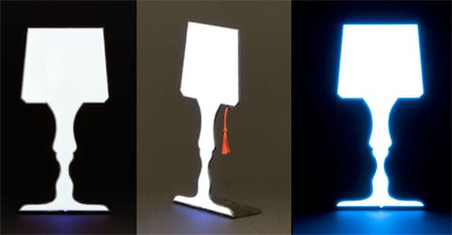 Lampada Lamp Is Thinner Than Thin But Still Lights Up the Place