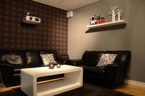Do It Yourself Home Theater Acts as Music Station Too 6