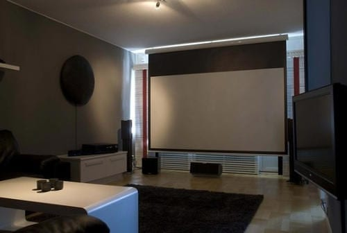 Do It Yourself Home Theater Acts as Music Station Too 5