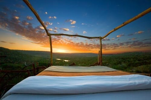Kiboko Star Bed, Loisaba Wilderness, Kenya Hotel Bed