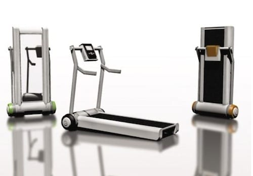 Space Saving Life Fitness Treadmill By Ryan Mather 5