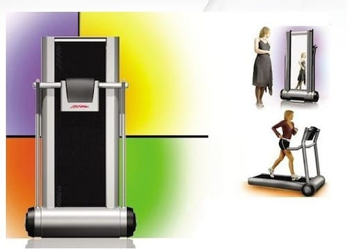Space Saving Life Fitness Treadmill By Ryan Mather 6