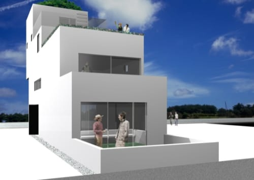 Balcony House - Modern Architecture