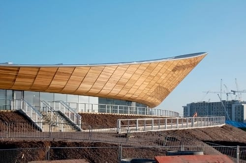 London 2012 Olympic Velodrome Roof