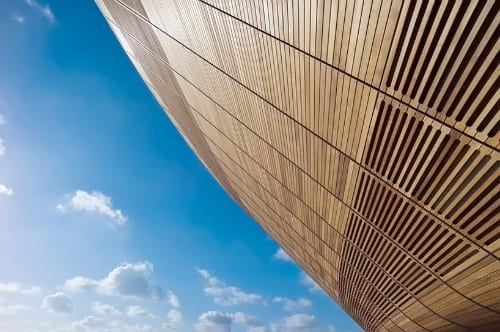 London 2012 Olympic Velodrome - Wooden Roof