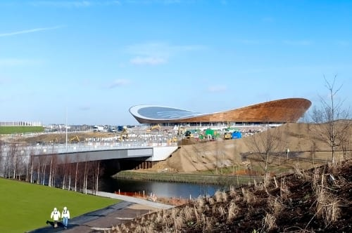 London 2012 Olympic Velodrome Is Now Complete