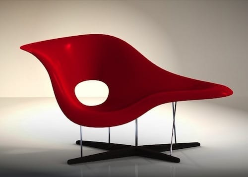 The EAMES LOUNGE CHAIR by Robert Guyser