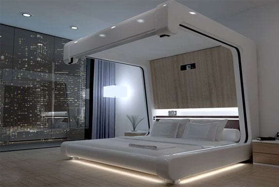 stylish canopy beds