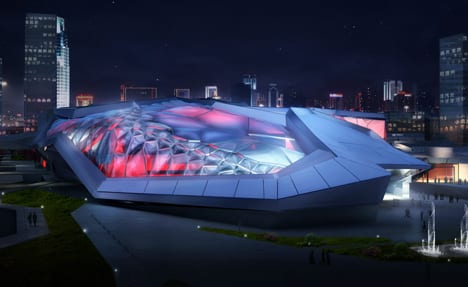 Futuristic And Modern Civic Sports Center and Games Arena In China 11