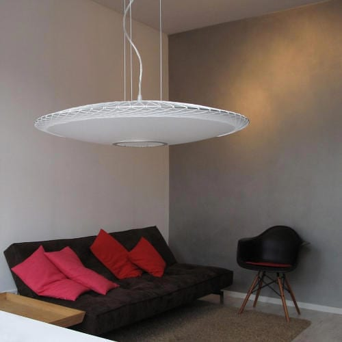 Disque Pendant Lamp by Marc van der Voorn Hovers Over Your Living Room