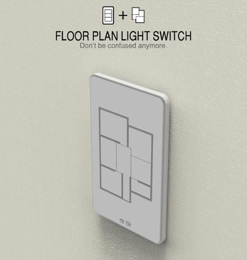 Floor Plan Light Switch Remembers to Turn Off Lights 9