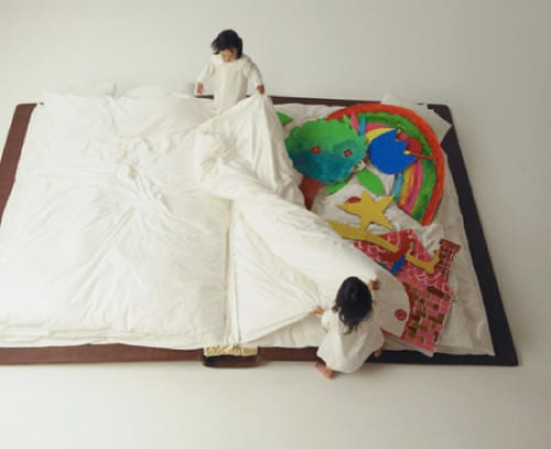 Book Bed by Yusuke Suzuki Brings Two Great Passions Together 9