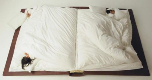 Book Bed by Yusuke Suzuki Brings Two Great Passions Together 11