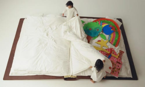 Book Bed by Yusuke Suzuki Brings Two Great Passions Together 10