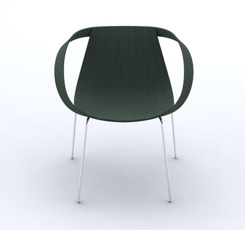 Moroso Impossible Wood Chair By Doshi Levien