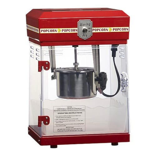 Retro Styled Waring Pro Popcorn Maker For Homes 5