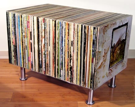 The Album Side Table