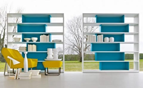 505 Shelf by Molteni Is a Piece of Art Made for Storage