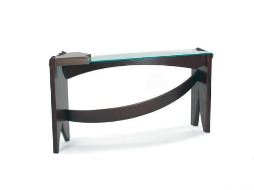 Curved Dovetail by Nico Yektai make great Modern Console Tables 10