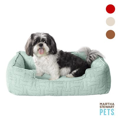 The Martha Stewart Bolster Dog Bed For Smaller Pets 7
