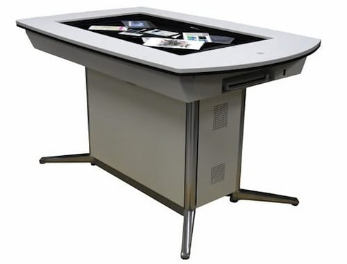 The Interactive Touch-Screen WWS-DT101 Discussion Table By Pioneer