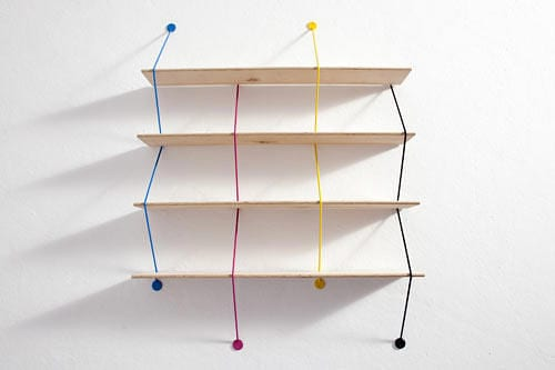 Serpent by Bashko Trybek Is a Modular Shelving System