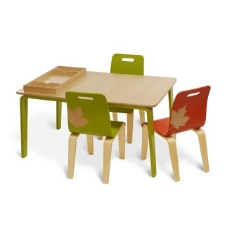 iglooplay Craft Work Table And Chairs for Children 10