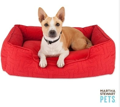 The Martha Stewart Bolster Dog Bed For Smaller Pets 5