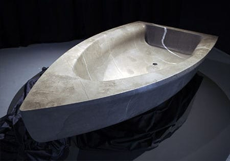 boat shaped tubs