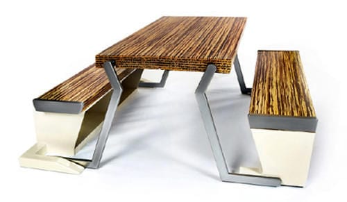 Legato Studio Dinner Table Turns Into a Bench in an Instant 6