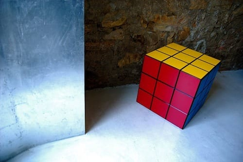 13 Cool Examples Of Rubik's Cube Inspired Furniture 16