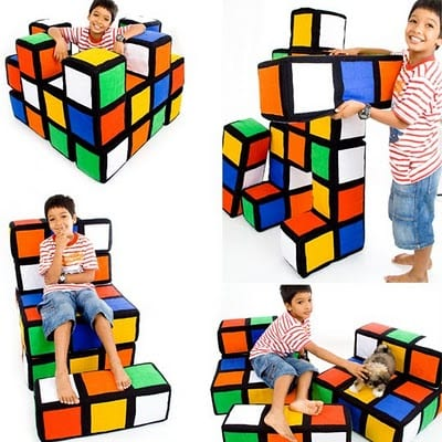 13 Cool Examples Of Rubik's Cube Inspired Furniture 15