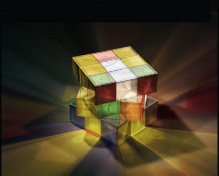 13 Cool Examples Of Rubik's Cube Inspired Furniture 9