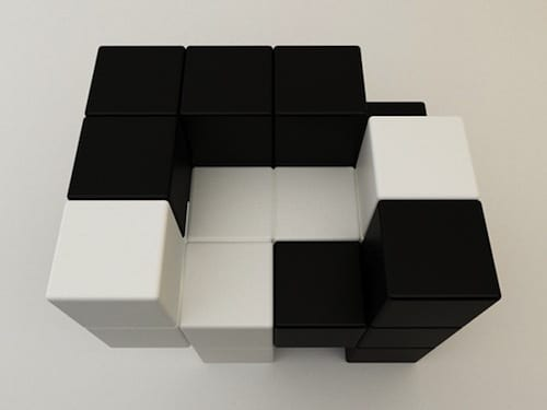 13 Cool Examples Of Rubik's Cube Inspired Furniture 18