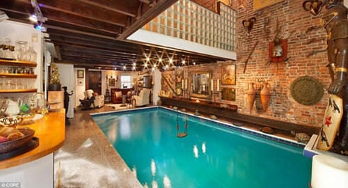New York Luxury Home Has A Swimming Pool Inside the Living Room 7