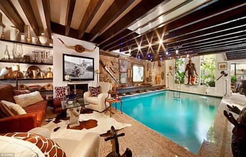 New York Luxury Home Has A Swimming Pool Inside the Living Room 6