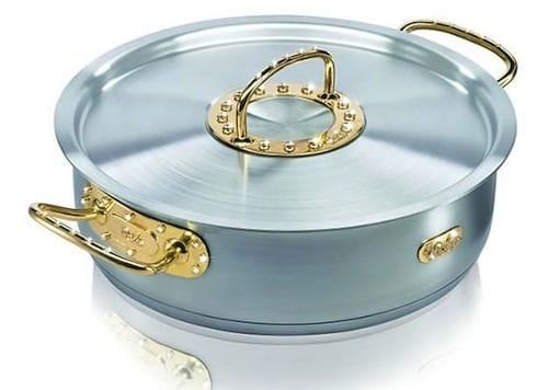 Gold And Diamond Cooking Pot
