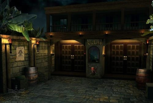Pirates Of The Caribbean Themed Theater