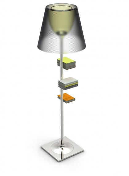 Bibliotheque Nationale Floor Lamp by Philippe Starck Charges iPads 9