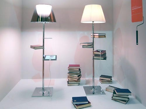 Bibliotheque Nationale Floor Lamp by Philippe Starck Charges iPads 10