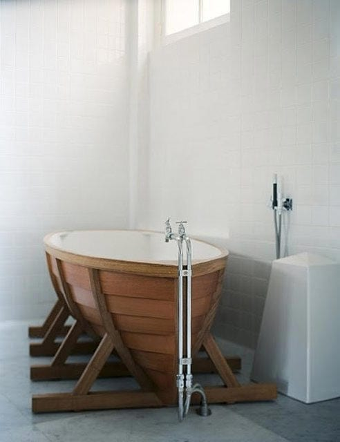 Limited Edition BathBoat by Wieki Somers Holds Water Within 9