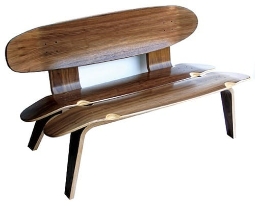 Skateboard Inspired Furniture