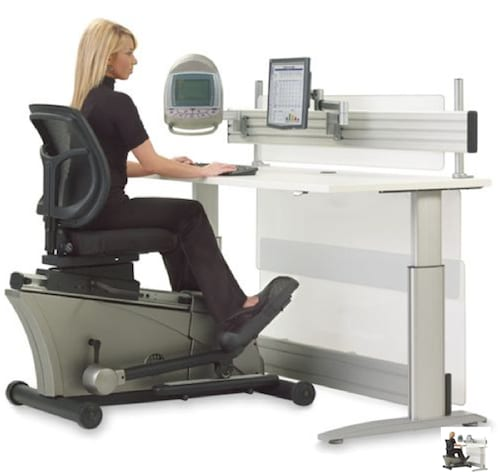 Elliptical Machine Office Desk Will Let You Exercise On The Job 9