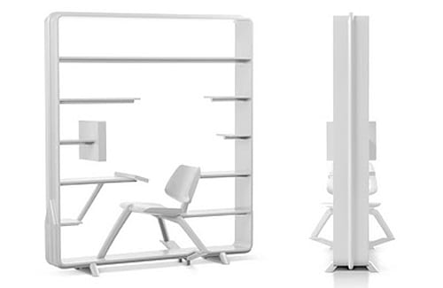 self contained office
